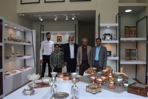 افتتاح فروشگاه صنایع دستی حامیان در مجموعه فرهنگی تاریخی سعدآباد